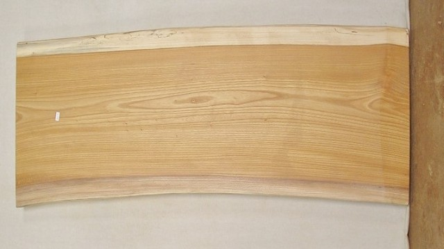 【木製看板・無垢一枚板】 山成林業 中型無垢一枚板 KC-274 ケヤキ 中型看板に最適
