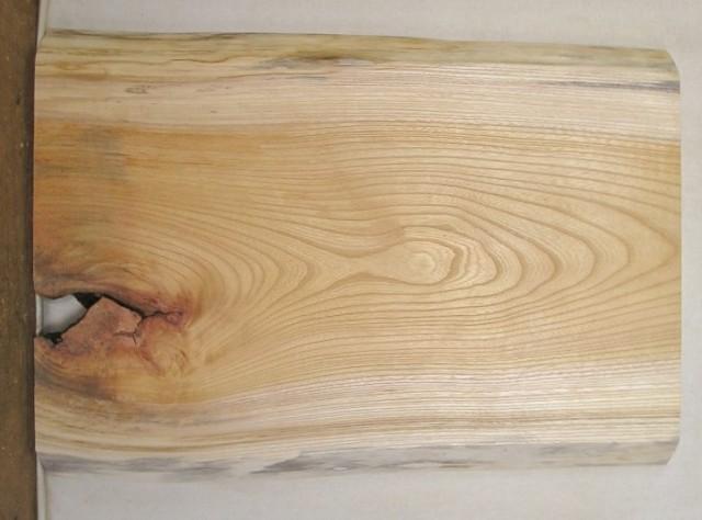 【送料・手数料無料】 山成林業 小型無垢一枚板 KD-362 ケヤキ 小型看板に最適
