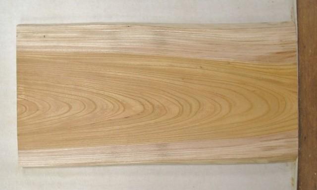 【手数料無料】 山成林業 特小無垢一枚板 KE-364 ケヤキ看板に最適
