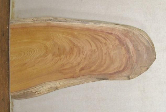 【送料・手数料無料】 山成林業 特小無垢一枚板 KE-366 木製花台・メッセージボード看板に最適