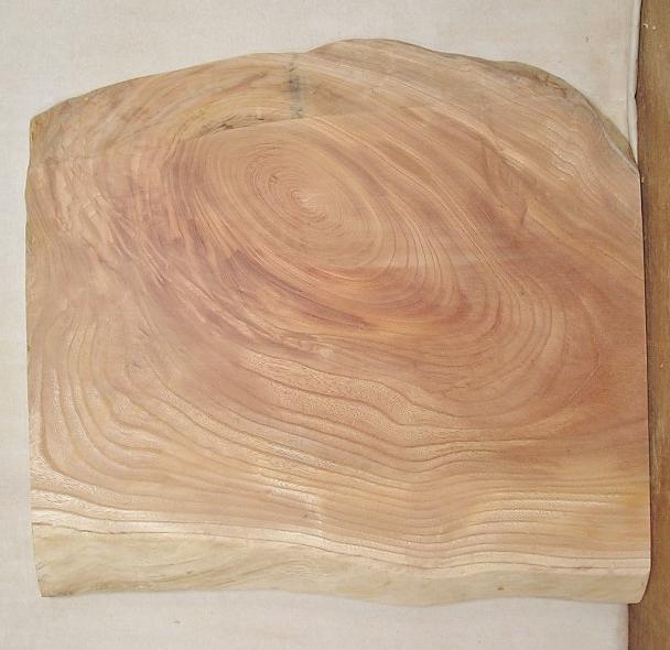 【送料・手数料無料】 山成林業 小型無垢一枚板 KD-369 ケヤキ 小型看板に最適