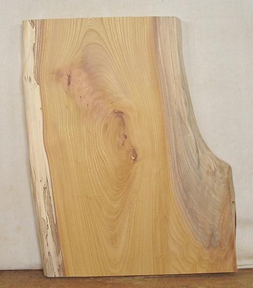 【送料・手数料無料】 山成林業 小型無垢一枚板 KD-370 ケヤキ 小型看板に最適