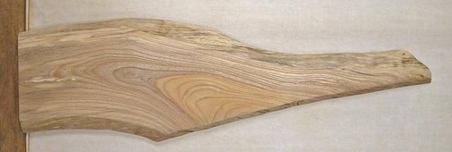 【ウェルカムボード・ 一枚板】 山成林業 小型無垢一枚板 KD-263 ケヤキ