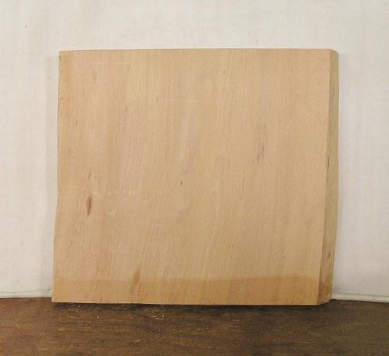 【送料・手数料無料】 山成林業 特小型無垢一枚板 BE-374 ブナ 特小型看板に最適