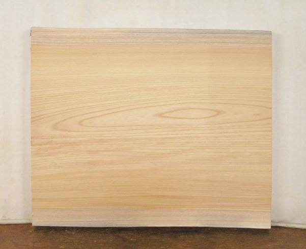 【送料・手数料無料】 山成林業 小型無垢一枚板 KD-375 ケヤキ 小型看板に最適