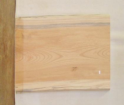 【送料・手数料無料】 山成林業 小型無垢一枚板 KD-356 ケヤキ 小型看板に最適