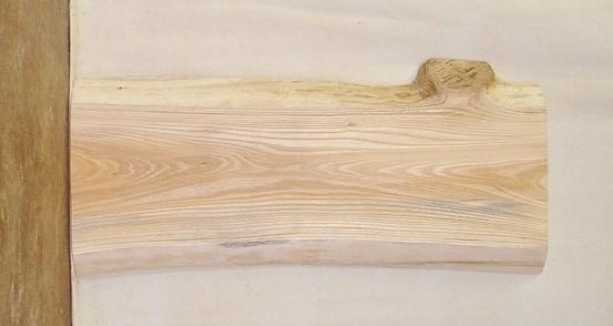 【送料・手数料無料】 山成林業 小型無垢一枚板 KD-381 ケヤキ 小型看板に最適