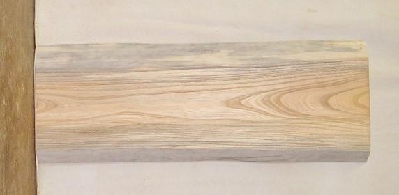 【送料・手数料無料】 山成林業 小型無垢一枚板 KD-382 ケヤキ 小型看板に最適