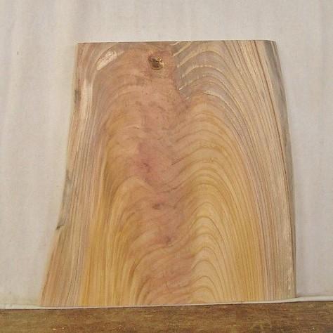 【送料・手数料無料】 山成林業 小型無垢一枚板 KD-385 ケヤキ 小型看板に最適