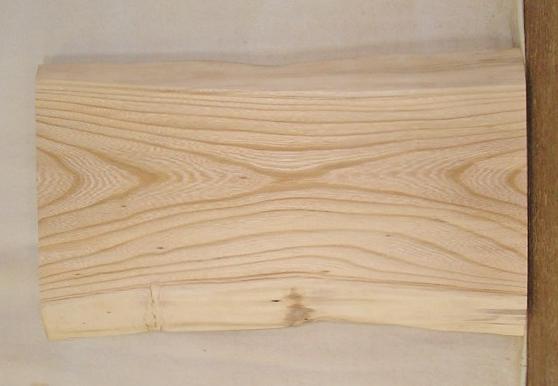 【送料・手数料無料】 山成林業 小型無垢一枚板 KD-393 ケヤキ 小型看板に最適