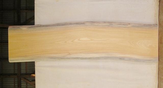 【送料・手数料無料!】 山成林業 大型無垢一枚板 KB-389 ケヤキ 大型看板に最適