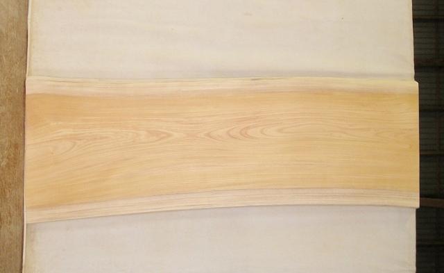 【送料・手数料無料!】 山成林業 大型無垢一枚板 KB-391 ケヤキ 大型看板に最適