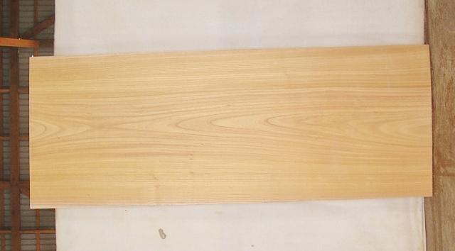 【送料・手数料無料!】 4辺カット無垢一枚板 KB-408 ケヤキ 大型看板に最適