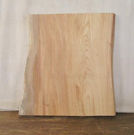 【送料・手数料無料】 山成林業 特小無垢一枚板 KE-410 ケヤキ看板に最適