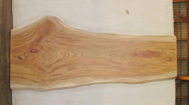【送料・手数料無料!】 山成林業 大型無垢一枚板 KB-412 ケヤキ 大型看板に最適