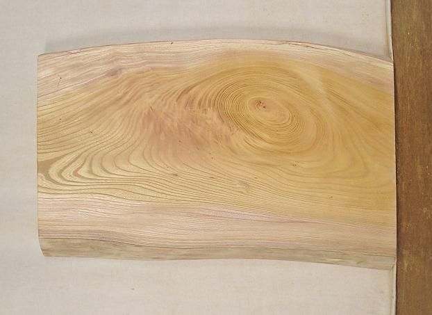 【送料・手数料無料】 山成林業 小型無垢一枚板 KD-416 ケヤキ 小型看板に最適
