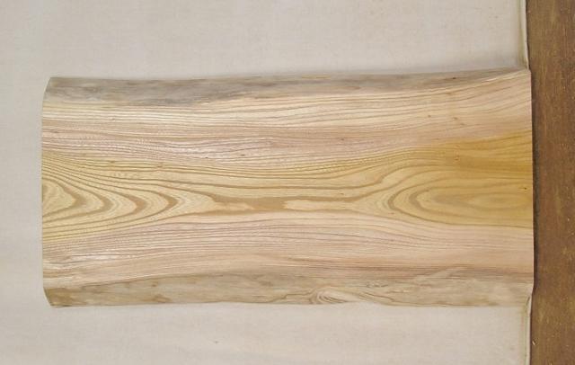 【送料・手数料無料】 山成林業 小型無垢一枚板 KD-418 ケヤキ 小型看板に最適