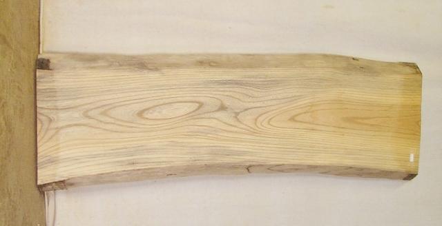 【送料・手数料無料】 山成林業 小型無垢一枚板 HK-103 ケヤキ 小型看板に最適