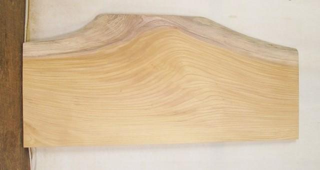 【送料・手数料無料】 山成林業 3辺カット無垢一枚板  KC-424 ケヤキ看板に最適