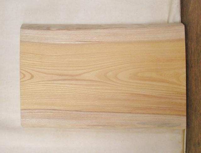 【送料・手数料無料】 山成林業 小型無垢一枚板 KD-439 ケヤキ 小型看板に最適