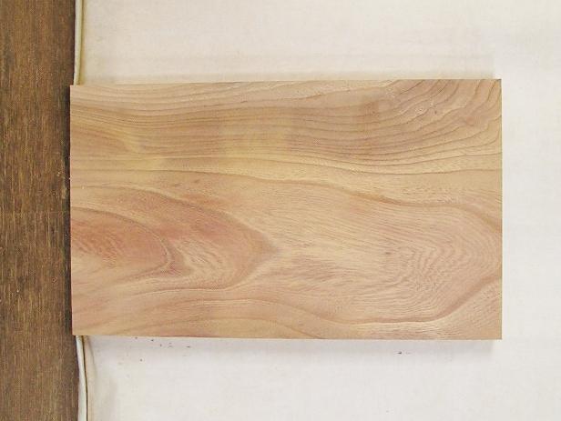 【送料・手数料無料】 山成林業 4辺カット無垢一枚板  KE-457 ケヤキ看板に最適