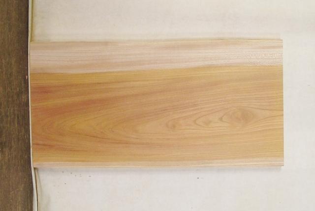 【送料・手数料無料】 山成林業 3辺カット無垢一枚板 KE-458 ケヤキ看板に最適