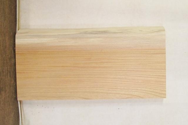 【送料・手数料無料】 山成林業 特小無垢一枚板 KE-459 ケヤキ看板に最適