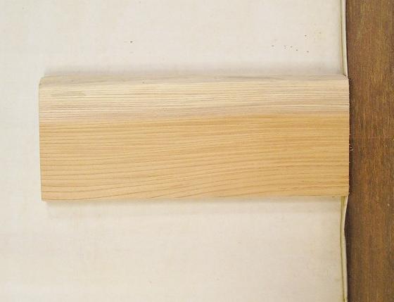 【送料・手数料無料】 3辺カット無垢一枚板 ケヤキ KE-463 小型看板に最適