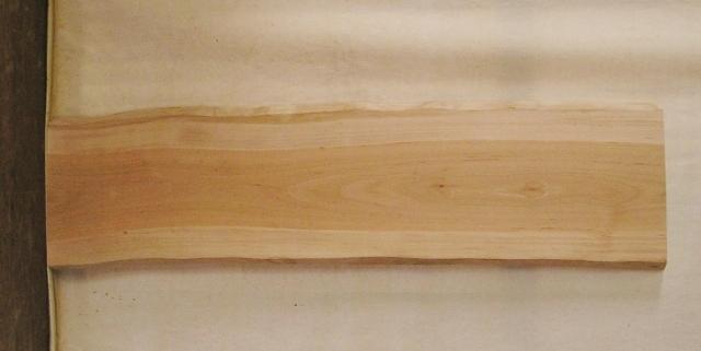【送料・手数料無料】 山成林業 小型無垢一枚板 YD-490 サクラ 看板に最適