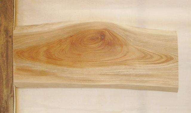 【送料・手数料無料】 山成林業 小型無垢一枚板 KD-501 ケヤキ 小型看板に最適
