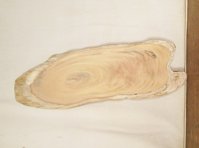 【送料・手数料無料】 山成林業 小型無垢一枚板 KD-507 ケヤキ 小型看板に最適