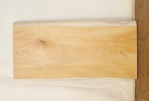 【送料・手数料無料】 山成林業 小型無垢一枚板 KD-529 ケヤキ 小型看板に最適