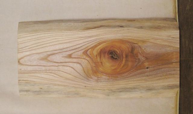 【送料・手数料無料】 山成林業 特小無垢一枚板 KE-534 ケヤキ看板に最適