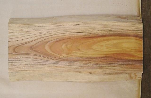【送料・手数料無料】 山成林業 特小無垢一枚板 KE-535 ケヤキ看板に最適