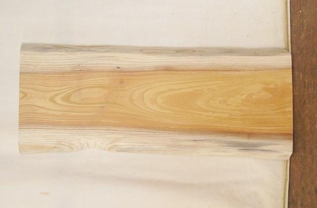 【送料・手数料無料】 山成林業 小型無垢一枚板 KD-538 ケヤキ 小型看板に最適