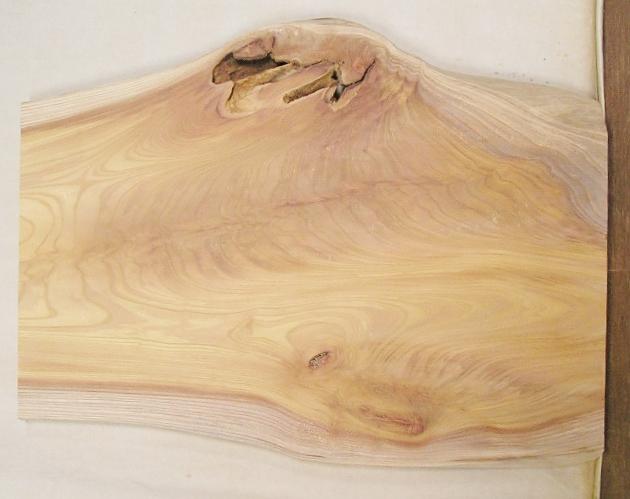 【送料・手数料無料】 山成林業 小型無垢一枚板 KD-540 ケヤキ 小型看板に最適
