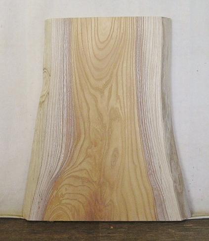 【送料・手数料無料】 山成林業 特小無垢一枚板 KE-547 ケヤキ看板に最適