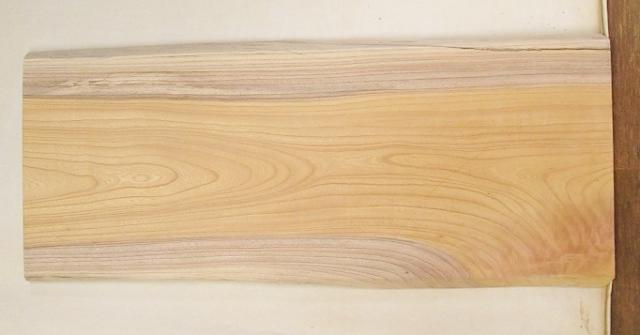【送料・手数料無料】 山成林業 訳あり特価一枚板 KD-549 キ 小型看板に最適