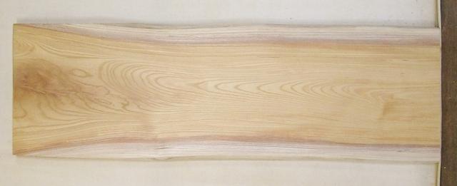 【送料・手数料無料】 山成林業 中型無垢一枚板 KC-568 ケヤキ 中型看板に最適