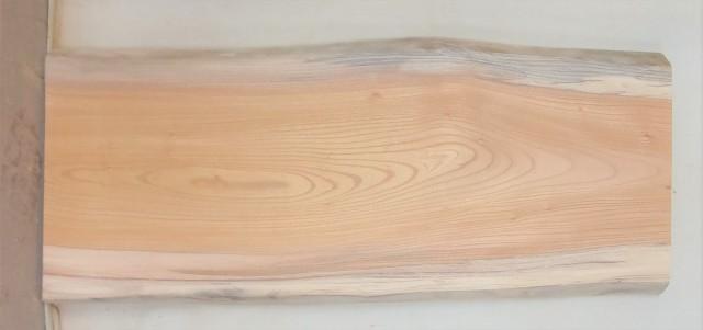 【送料・手数料無料】 山成林業 小型無垢一枚板 KD-574 ケヤキ 小型看板に最適