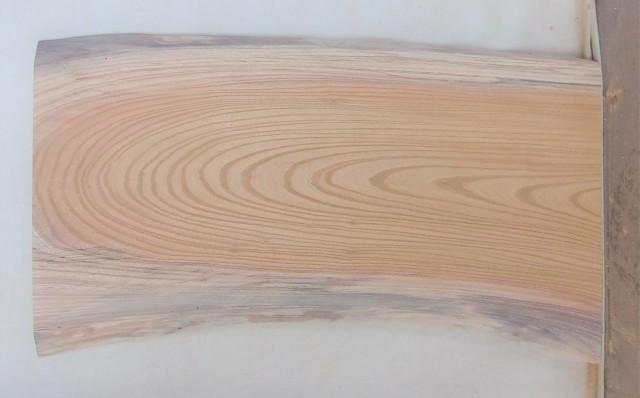 【送料・手数料無料】 山成林業 特小無垢一枚板 KE-575 ケヤキ看板に最適