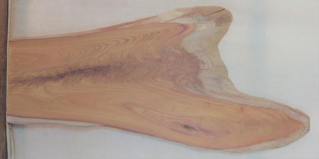 【送料・手数料無料】 山成林業 小型無垢一枚板 KD-584 ケヤキ 小型看板に最適
