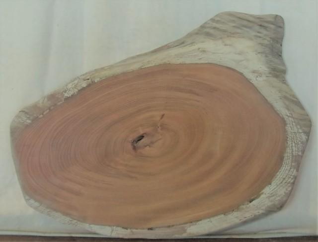 【送料・手数料無料】 山成林業 小型無垢一枚板 KD-586 ケヤキ 小型看板に最適