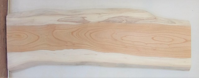 【送料・手数料無料】 山成林業 小型無垢一枚板 KD-590 ケヤキ 小型看板に最適