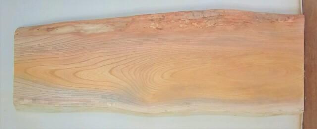 【送料・手数料無料】 山成林業 中型無垢一枚板 KC-603 ケヤキ 中型看板に最適