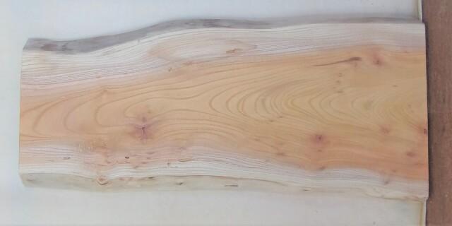 【送料・手数料無料】 山成林業 小無垢一枚板 KD-607 ケヤキ看板に最適
