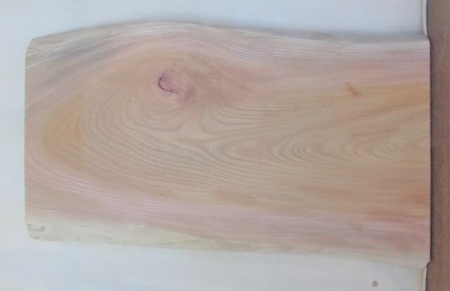 【送料・手数料無料】 山成林業 小無垢一枚板 KD-608 ケヤキ看板に最適
