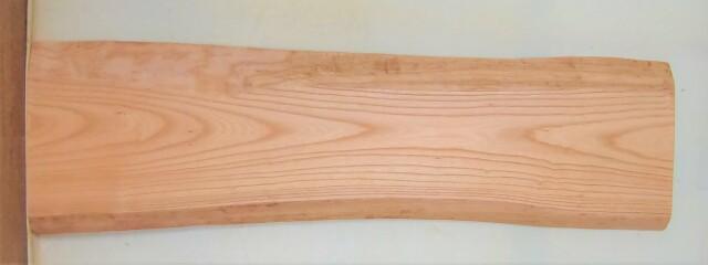 【送料・手数料無料】 山成林業 小無垢一枚板 KD-609 ケヤキ看板に最適