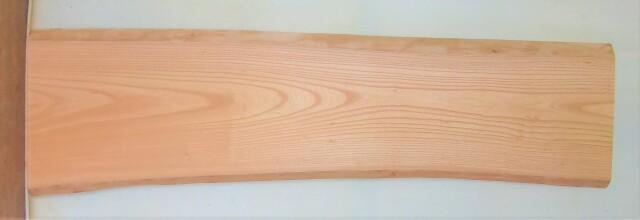 【送料・手数料無料】 山成林業 中型無垢一枚板 KC-611 ケヤキ 中型看板に最適