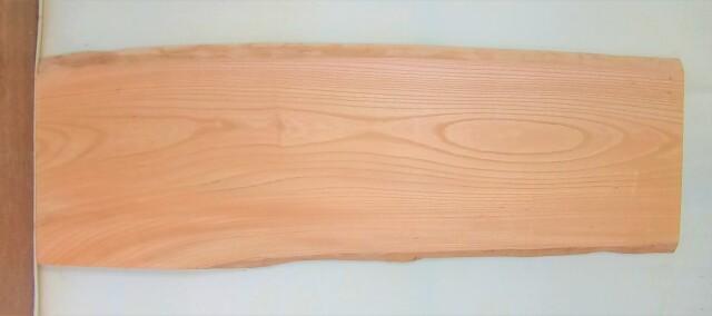 【送料・手数料無料】 山成林業 中型無垢一枚板 KC-612 ケヤキ 中型看板に最適